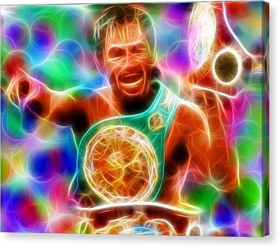 Manny Pacquiao Canvas Print - Magical Manny Pacquiao by Paul Van Scott