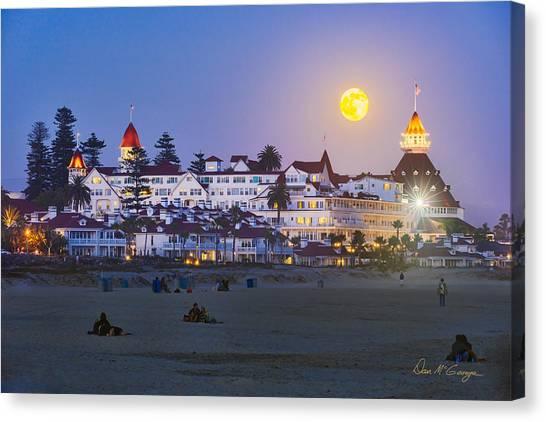 Magical Moonrise Canvas Print