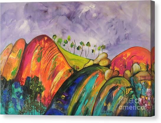 Magical Mountains Canvas Print
