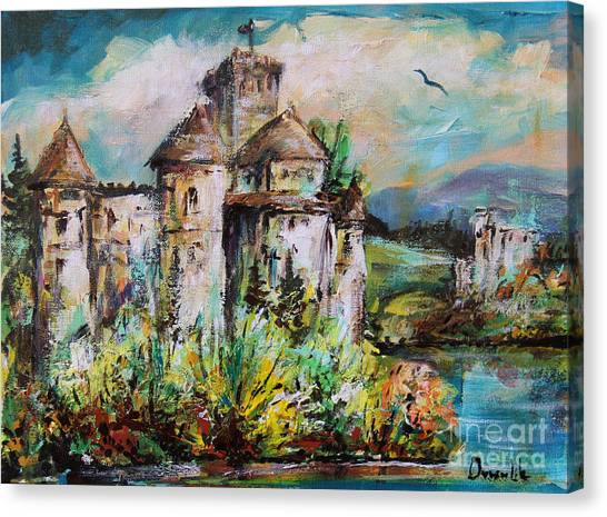 Magical Palace Canvas Print