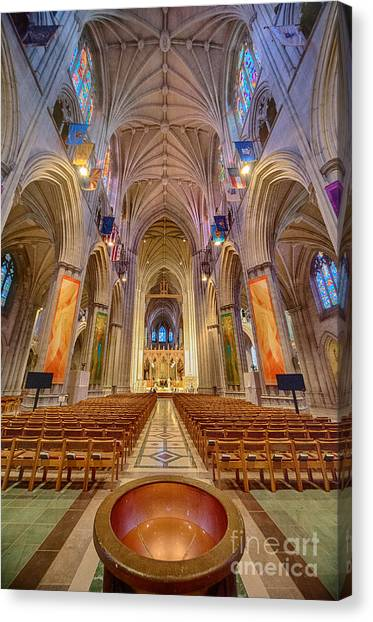 Magnificent Cathedral V Canvas Print