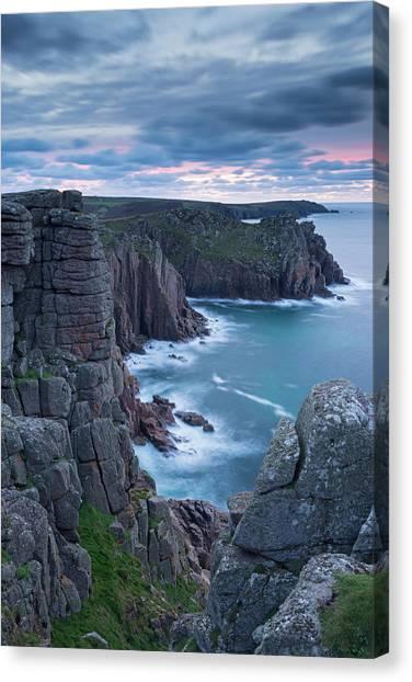 Cliff Burton Canvas Print - Magnificent Granite Cliffs From by Adam Burton / Robertharding