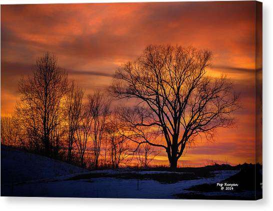 Canvas Print - Magnificent Morning by Peg Runyan