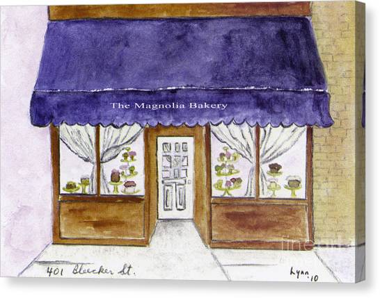 Magnolia Bakery In Greenwich Village Canvas Print