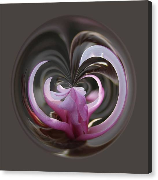 Canvas Print featuring the photograph Magnolia Blossom Series 1307 by Jim Baker