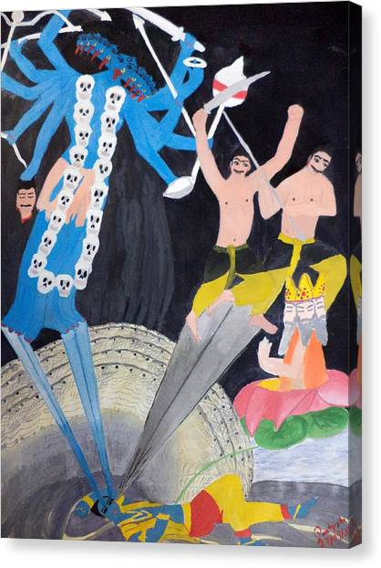 Mahakali Canvas Print