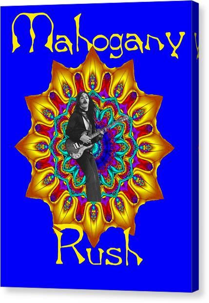 Mahogany Rush Art 1 Canvas Print