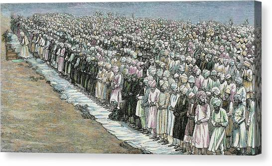 Fine Art India Canvas Print - Mahommedan Festival Buckra Ede Or by Prisma Archivo