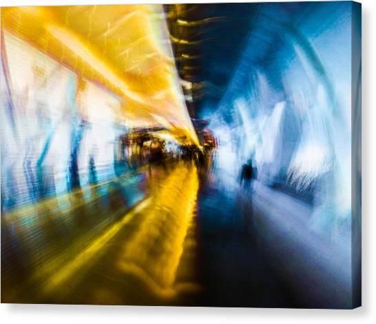 Main Access Tunnel Nyryx Station Canvas Print