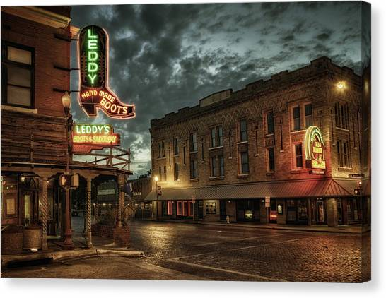Main And Exchange Canvas Print