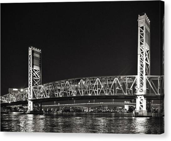 Main Street Bridge Jacksonville Florida Canvas Print