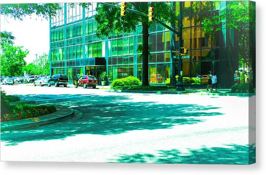 Main Street Canvas Print by Philip Zion