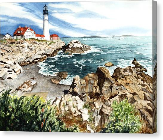 Maine Attraction Canvas Print