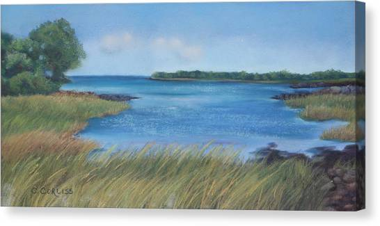 Maine Blues Canvas Print