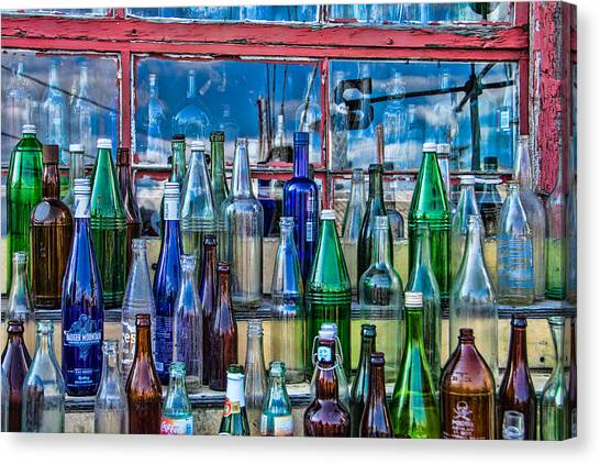 Maine Bottle Collector Canvas Print