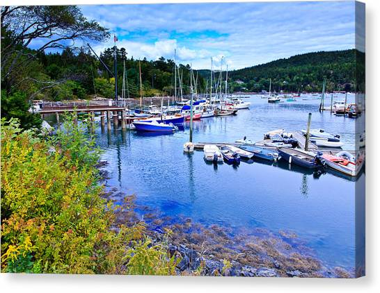 Maine Harbor 2 Canvas Print