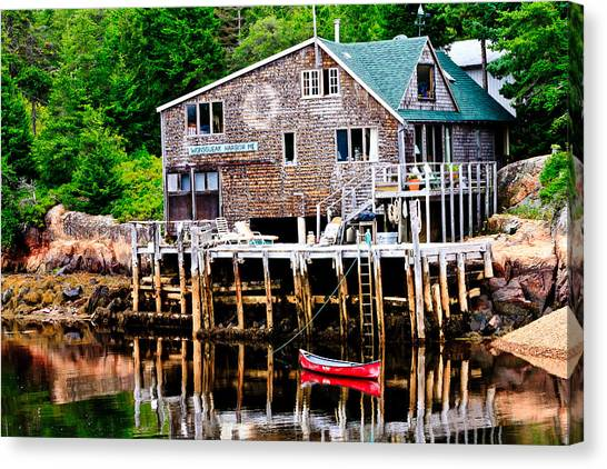 Maine Scene Canvas Print