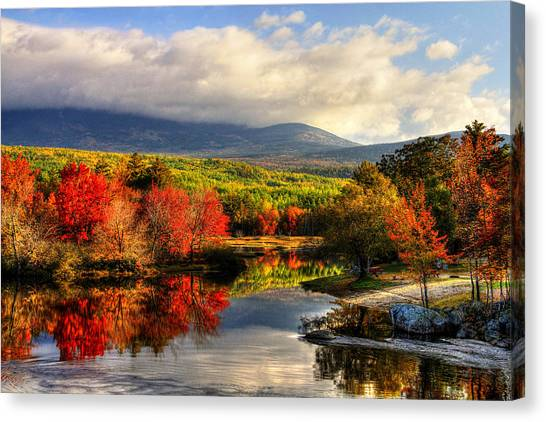 Maine's Beauty Canvas Print