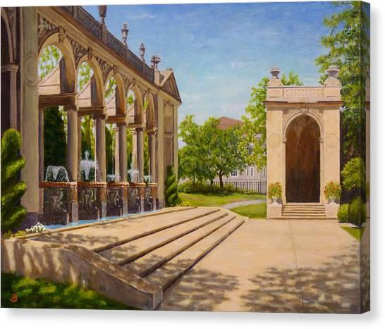 Majestic Entrance Canvas Print