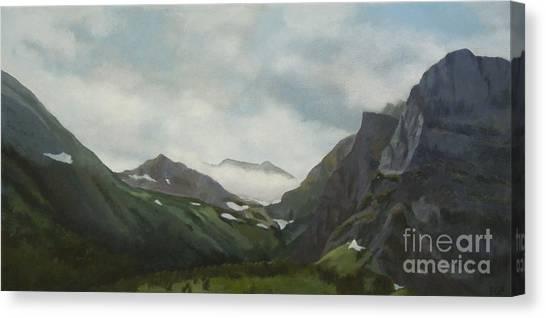 Majestic Glacier Park Canvas Print