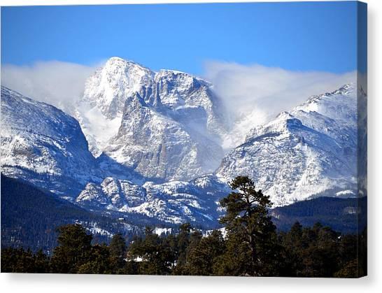 Majestic Mountains Canvas Print