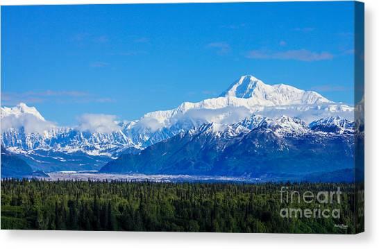 Majestic Mt Mckinley Canvas Print