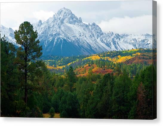 Majestic Mt. Sneffels Canvas Print