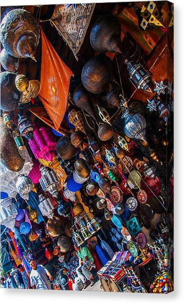 Marrakech Lanterns Canvas Print