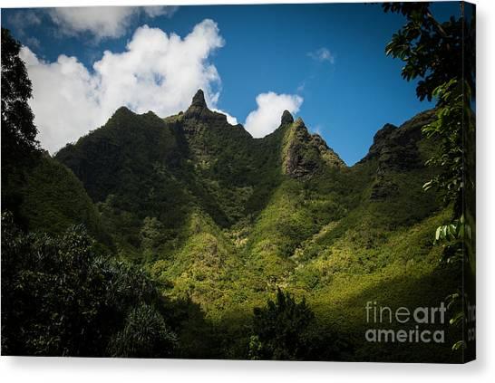 Makana Mountain Canvas Print