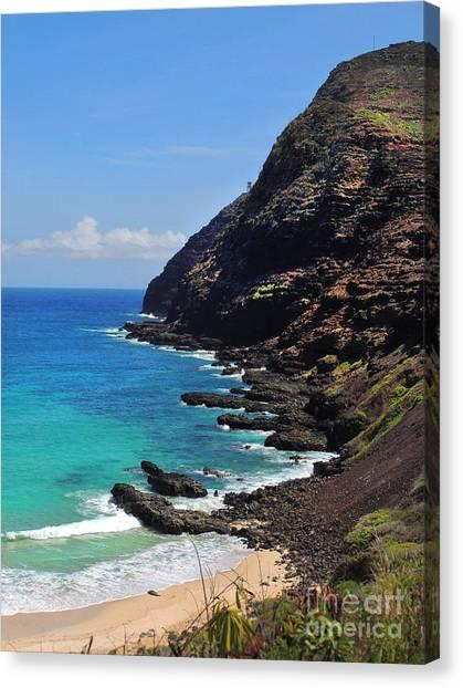 Makapu'u Beach 2 Canvas Print