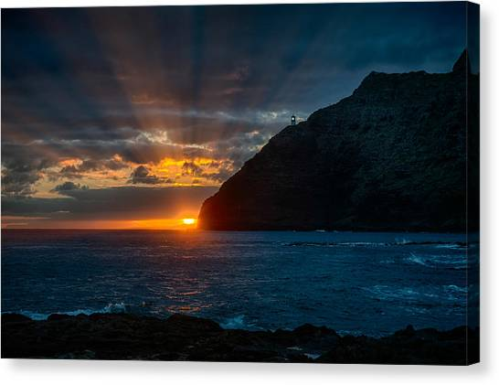 Makapuu Sunrise Canvas Print