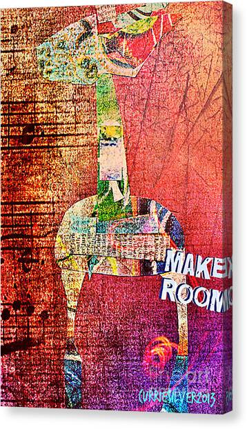 Make Room Canvas Print by Currie Silver
