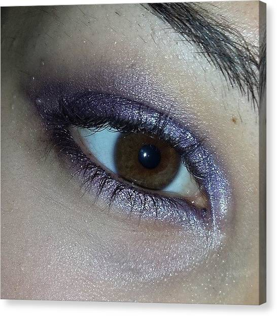 Bases Canvas Print - #makeup #instamakeup #cosmetic by Francesca Fra