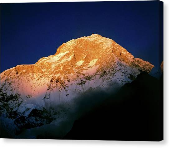 Himalayas Canvas Print - Makula by Simon Fraser/science Photo Library