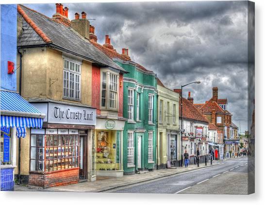 Malden Street Scene Canvas Print