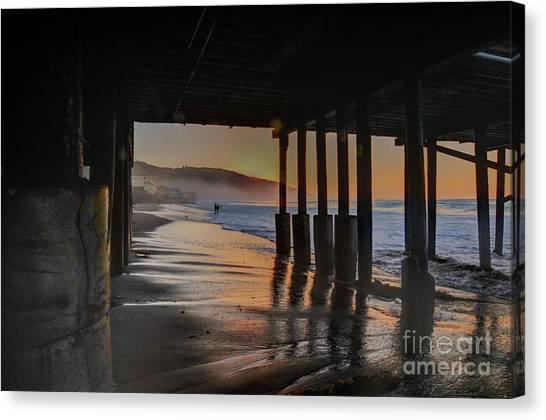 Malibu Color Canvas Print