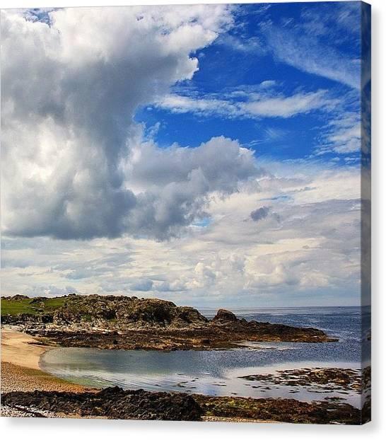 Ireland Canvas Print - #malinhead #ireland #landscape by Luisa Azzolini