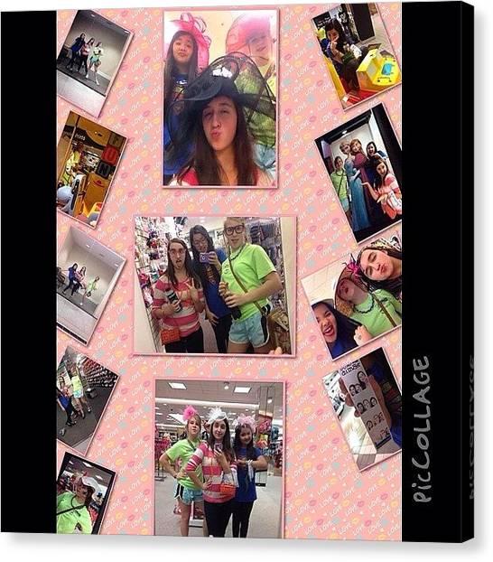 Unicorns Canvas Print - Mall With My Girls! #piccollage by Gina Gonzalez