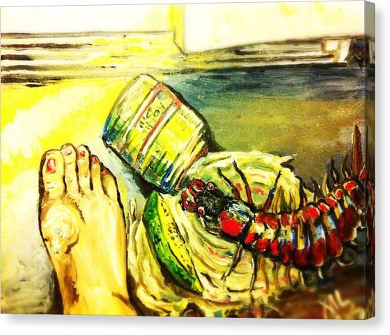 Mama Found Your Clipper Canvas Print