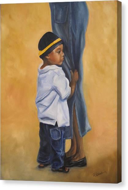 Mama Look Canvas Print