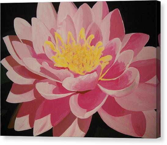 Mama's Lovely Lotus Canvas Print