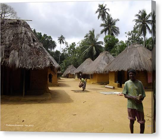 Mamboima Village Canvas Print