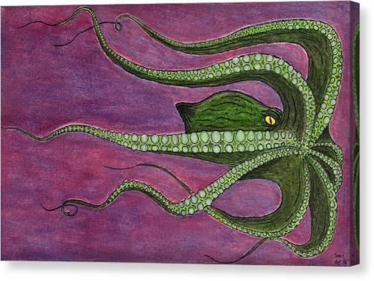 Mammon Canvas Print by Sean Mitchell