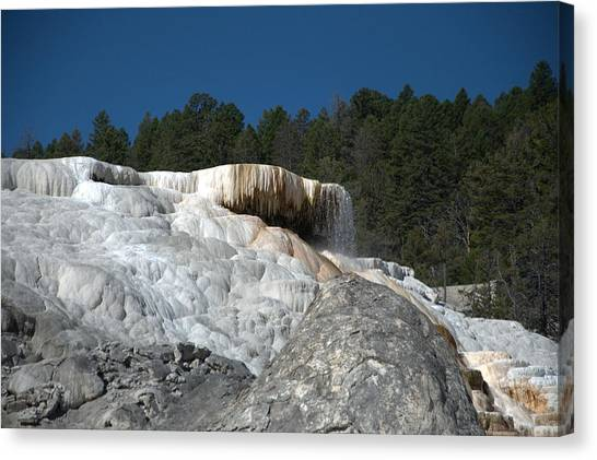 Mammoth Hot Springs 1 Canvas Print