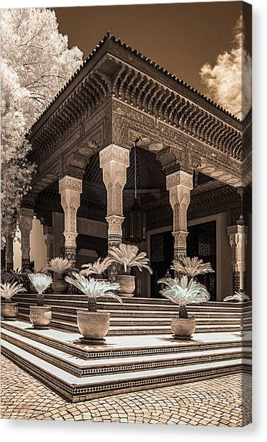 Mamounia Hotel In Marrakech Canvas Print