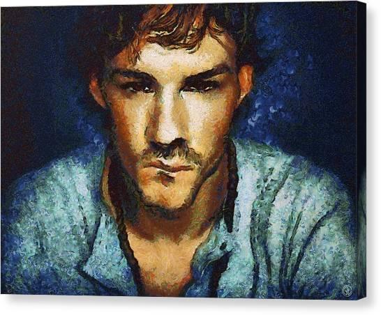 Man A La Van Gogh Canvas Print by Gun Legler