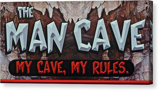 Stalagmites Canvas Print - Man Cave by Frozen in Time Fine Art Photography