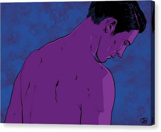 Man Canvas Print by Giuseppe Cristiano