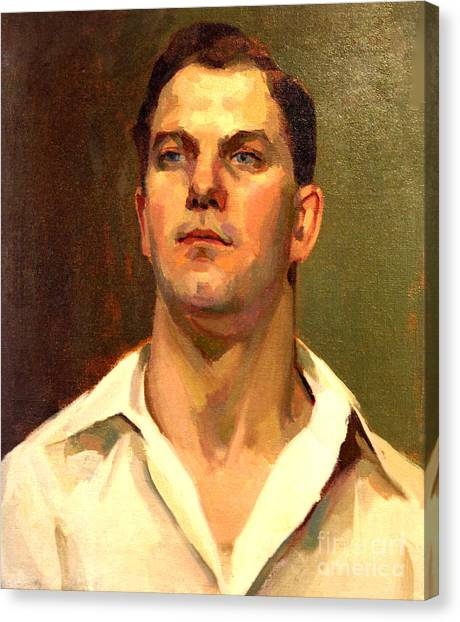Man Of 1929 Canvas Print