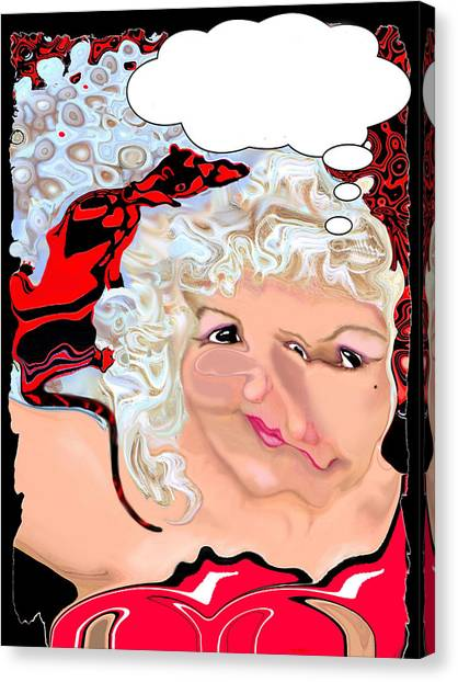 Man Rat Canvas Print by Jann Paxton
